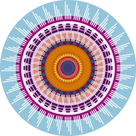 Sousplat - Mandala