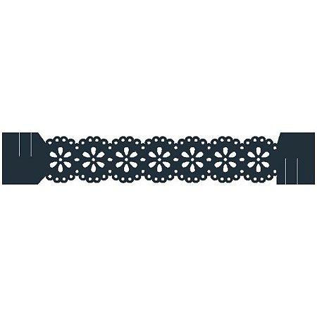 Porta Guardanapo - Blossom Azul marinho