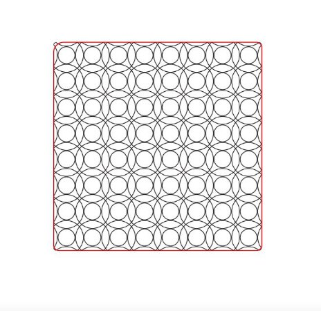 Marcador de biscoito - Textura Geo 05