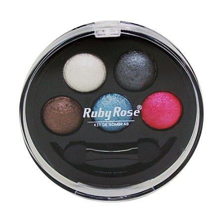Kit de Sombra Ruby Rose - 5 Cores - Cor 2