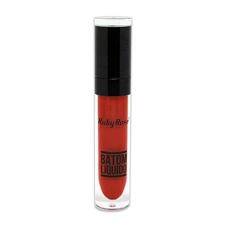 Batom Liquido Matte NEW Ruby Rose HB-8213M - Cor 33