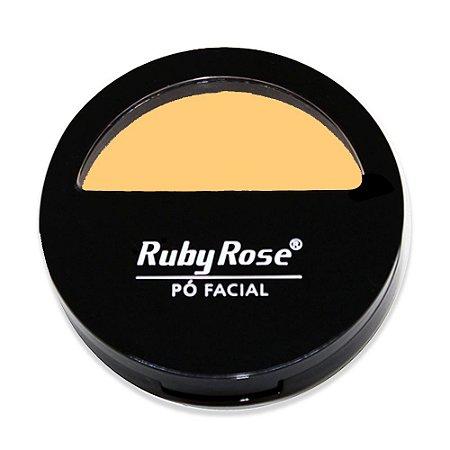 Pó Facial Com Espelho HB 7200 Cor 1