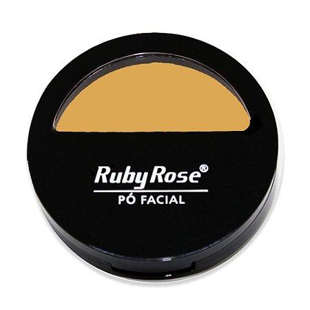Pó Facial Com Espelho HB 7200 Cor 3