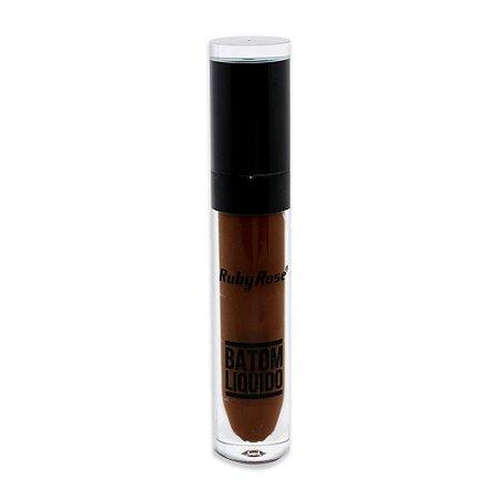 Batom Liquido Matte NEW Ruby Rose HB-8213M - Cor 267