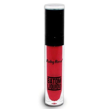 Batom Liquido Matte NEW Ruby Rose HB-8213M - Cor 262