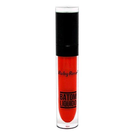 Batom Liquido Matte NEW Ruby Rose HB-8213M - Cor 66
