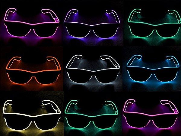 19985a433 10 unidades Óculos Neon, Festa, Balada, Rave, Casamento, Tomorrowland