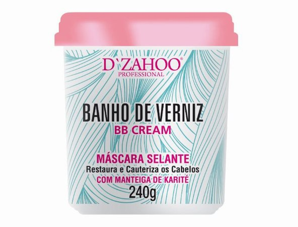 DZAHOO MÁSCARA SELANTE BANHO DE VERNIZ 240G
