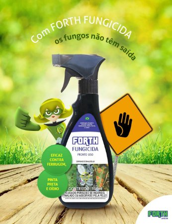 Forth Fungicida - Pronto para Uso 500ml