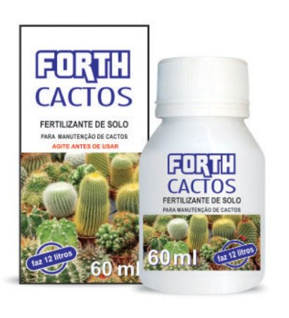Fertilizante Líquido - FORTH Cactos 60ml - Concentrado