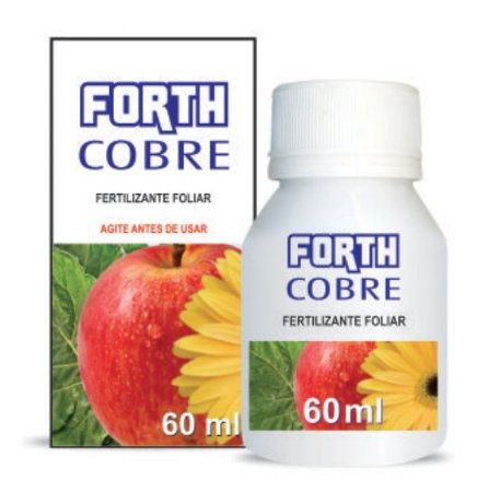 Fertilizante FORTH COBRE - Concentrado 60ml