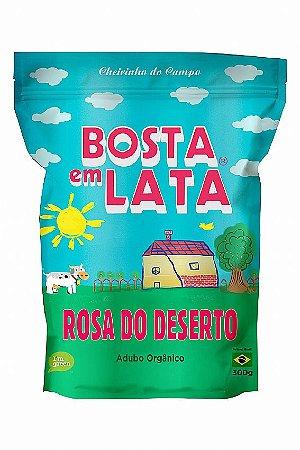 ADUBO ORGÂNICO PARA ROSA DO DESERTO - ZIP 300g