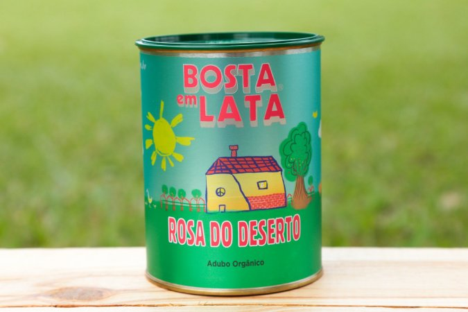 ADUBO ORGÂNICO PARA ROSA DO DESERTO - LATA 500g