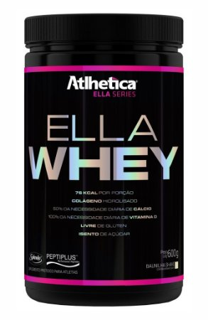 4237cfe3d Ella Whey (600g) - Atlhetica Nutrition - Real Shape Suplementos