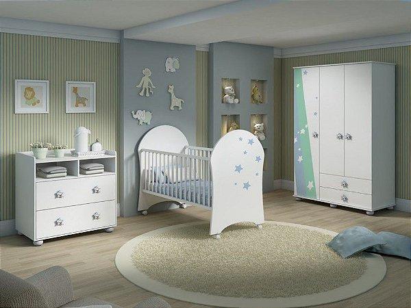 Ambiente infantil Funny Branco com Estrela