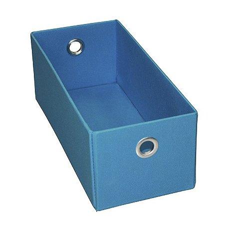 Caixa Organizadora Para DVDs e CDs na Cor Azul