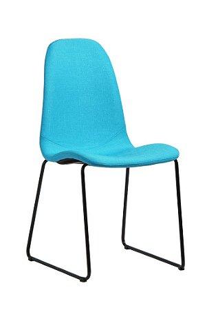 Cadeira de Jantar Chantilly na Cor Azul Turqueza