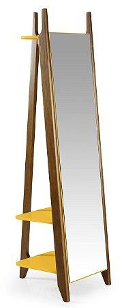 Espelho Stoka - Amarelo