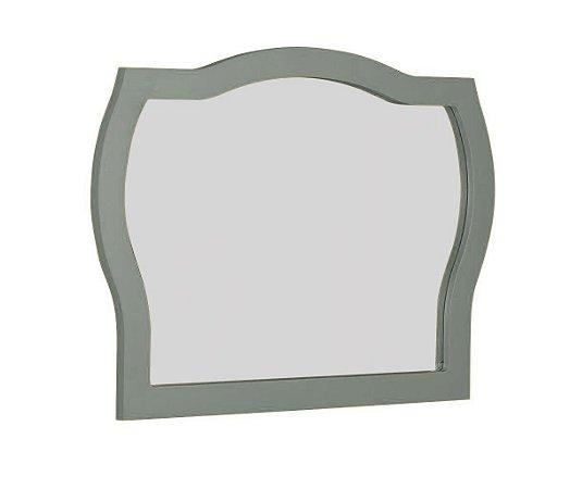 Espelho com Moldura Jungle - Cinza