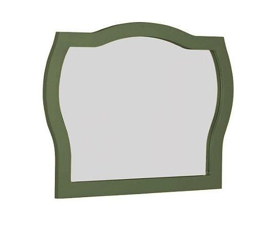 Espelho com Moldura Jungle - Verde Oliva