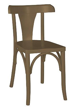 Cadeira Felice na Cor Marrom Claro