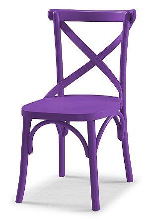 Cadeira X - Roxa