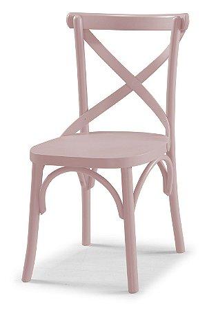 Cadeira X - Rosa