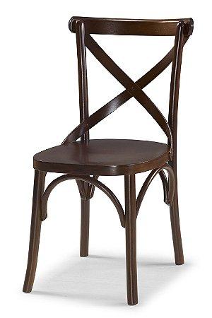 Cadeira X - Marrom