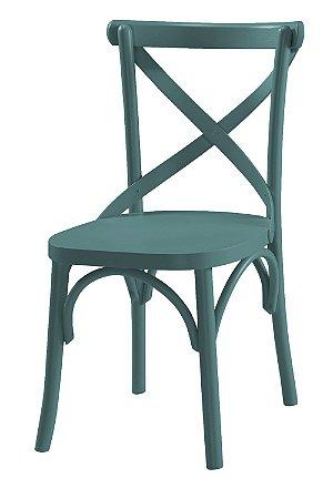 Cadeira X - Azul Claro