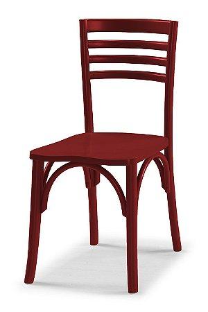 Cadeira Samara na Cor Vinho