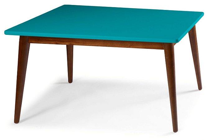 Mesa de Jantar Novita na Cor Azul Turqueza em vários tamanhos confira: