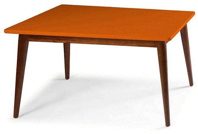 Mesa de Jantar Novita na Cor laranja em vários tamanhos confira: