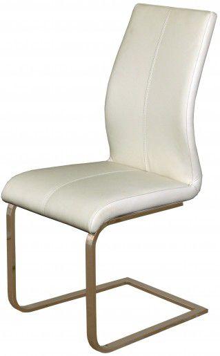 Cadeira de Jantar Milano na Cor Branca