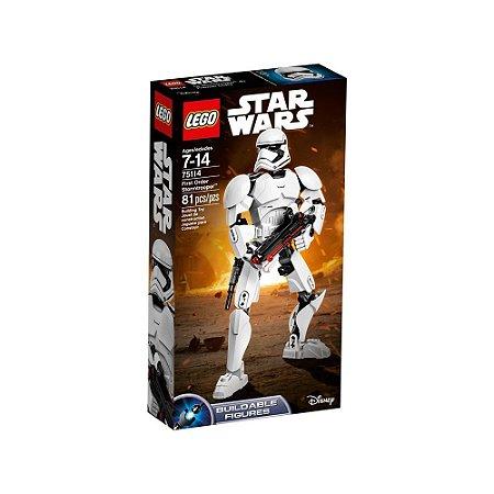 75114 Stormtrooper™ da Primeira Ordem - LEGO® Star Wars™ Constraction