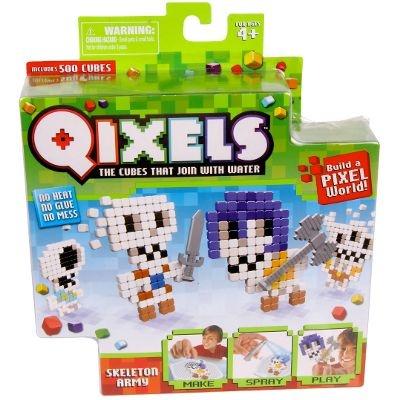 Qixels Temático - BR494 - Exército de Esqueletos - Multikids