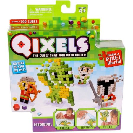 Qixels Temático - BR494 - Medieval - Multikids