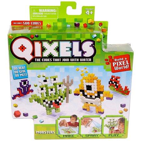 Qixels Temático - BR494 - Monstros - Multikids