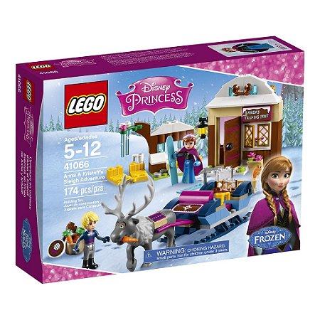 41066 A Aventura de Trenó de Anna e Kristoff - LEGO® Disney Princess