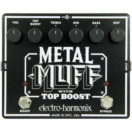 Pedal de Efeito Boost Metal Muff Electro Harmonix