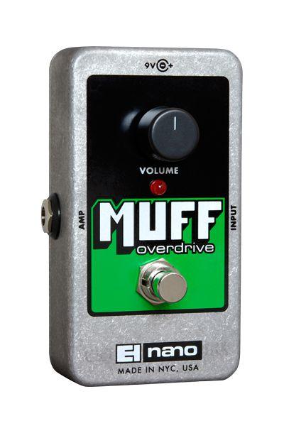 Pedal De Efeito Overdrive Nano Muff Electro-harmonix