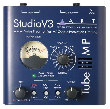 Preamplificador De Microfone Tube Mp Studio V3 Art
