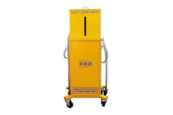 Máquina de Troca Líquido Arrefecimento c / sistema Anti-tomb.