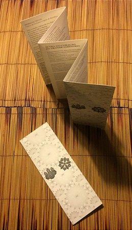 Livreto de Sutras para Refeições Daissen Ji