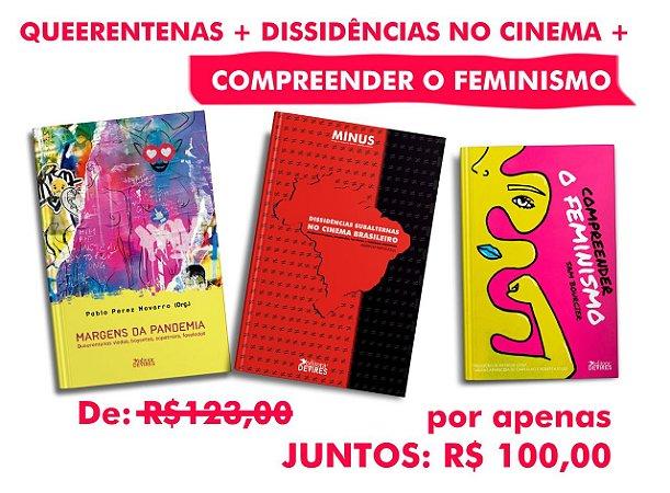 QUEERENTENAS + DISSIDÊNCIAS NO CINEMA + COMPREEENDER O FEMINISMO