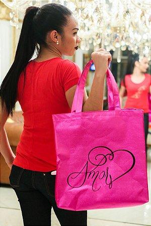 Bolsa Amor Rosa