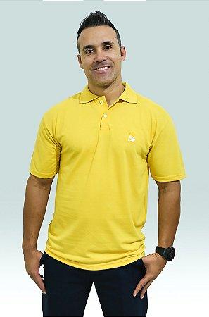 Polo Plenitude masc. amarela