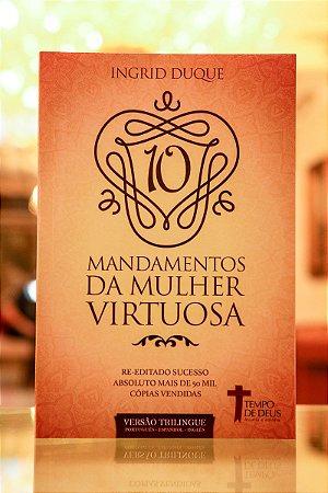 Livro Os 10 Mandamentos da Mulher virtuosa