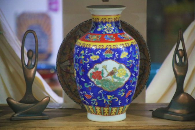 Vaso Jacarta Porcelana