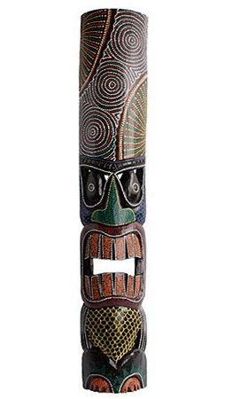 Kit remo 50cm + Máscara 1 metrô havaiana color