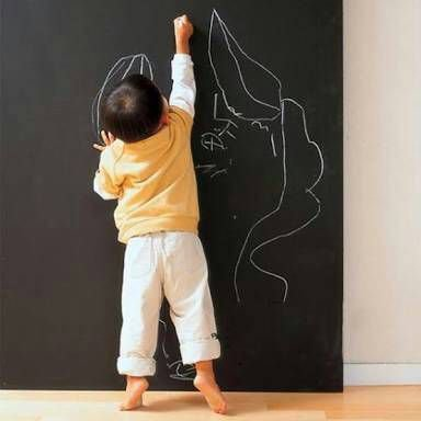 Lousa Mural Rolo - Tecido adesivo (100% poliéster  #lavável #imprimível)